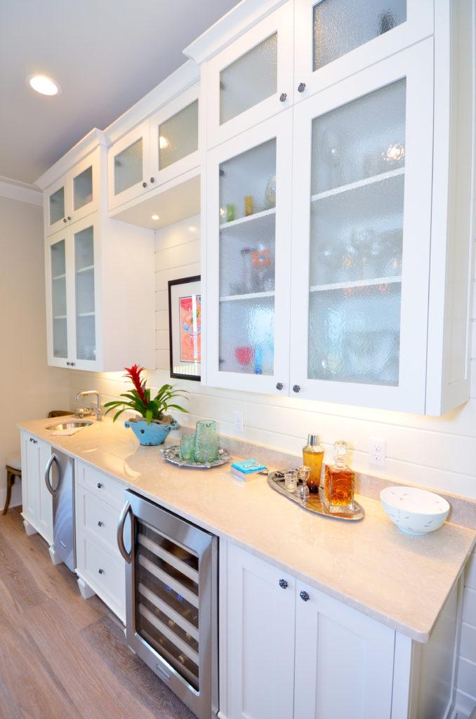 Pensacola Home and Garden White Bar