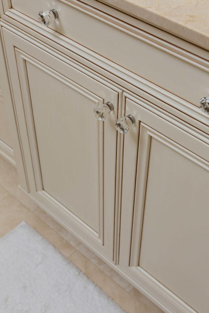 Highpoint Bathroom Vanity with Dark Stained Finish