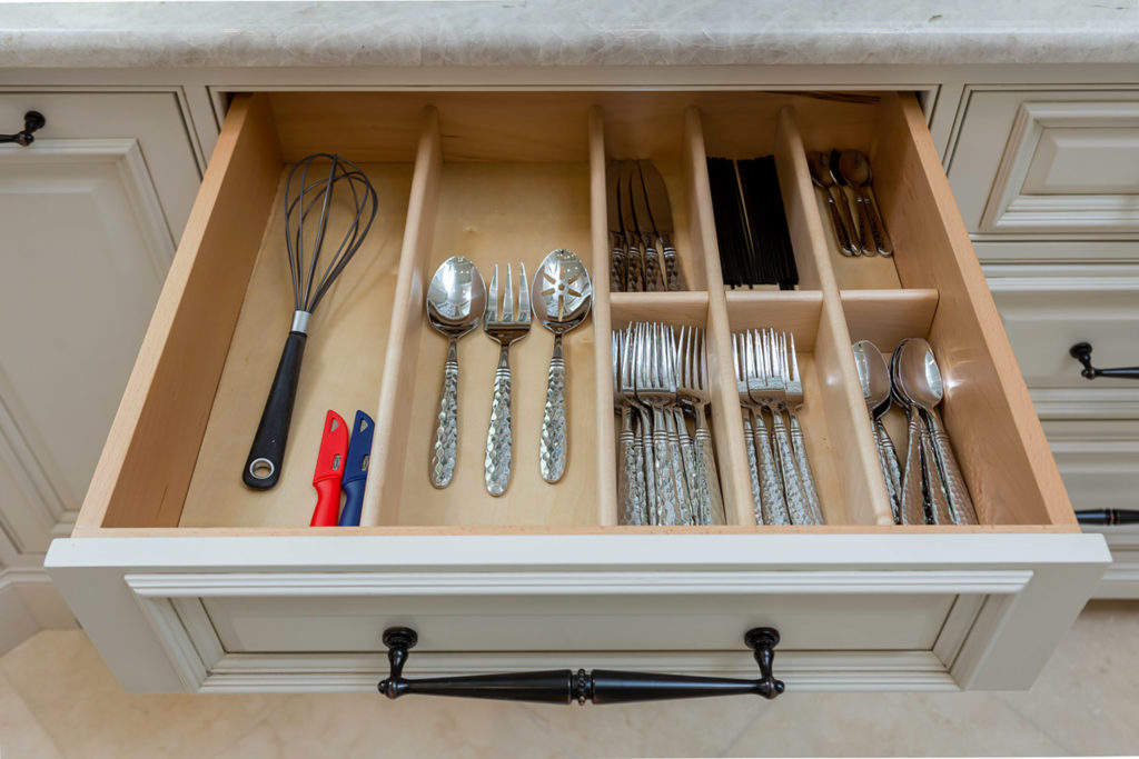 Highpoint Silverware Drawer Organizer