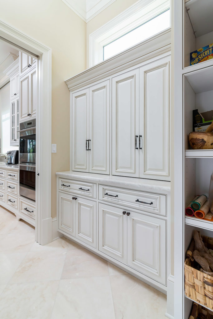 Highpoint Pantry White Cabinets