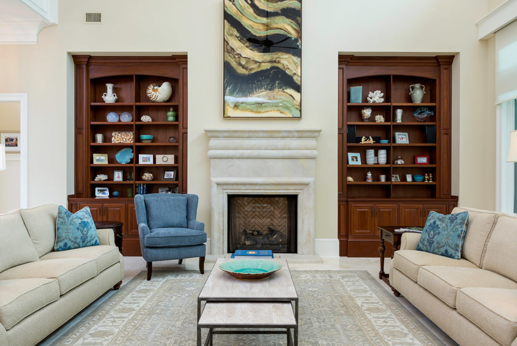 Highpoint Living Room Bookshelves