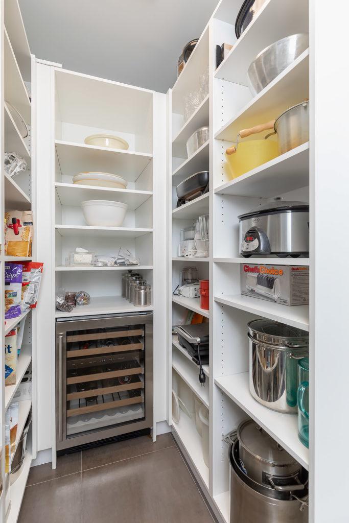 White Modern Pantry