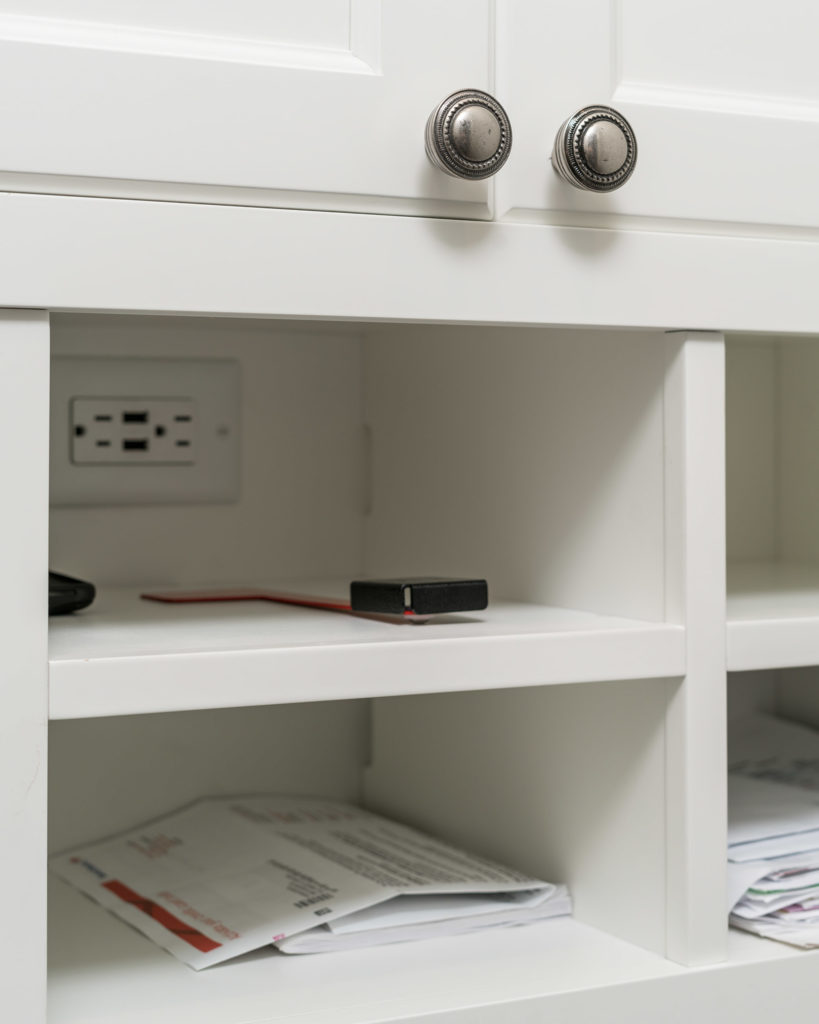 Bayfront White Office Hardware