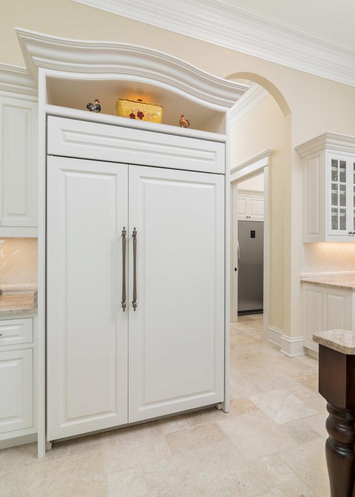 Peaks Kitchen Panel Refridgerator