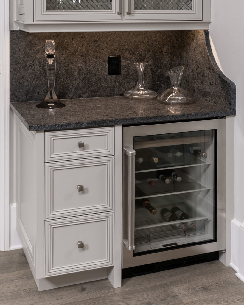 Close up of Wet Bar