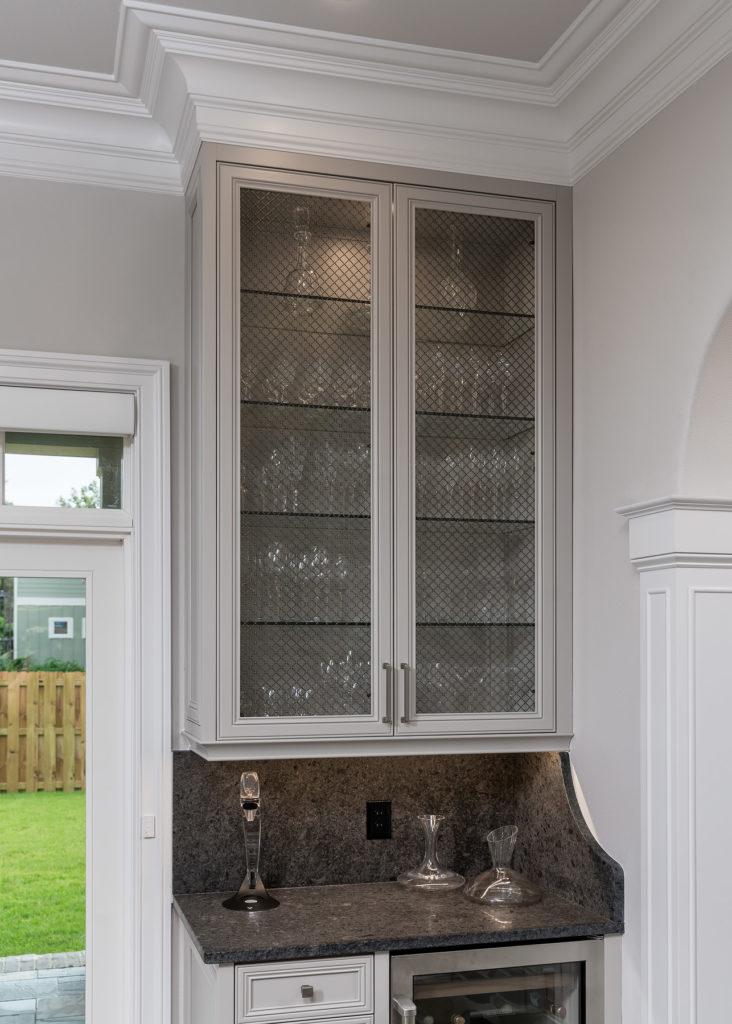Open Frame Wet Bar Doors