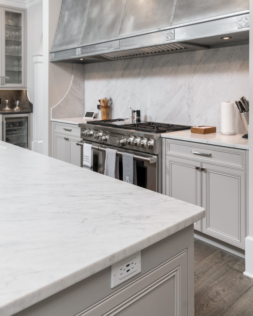Kitchen Island Wall Outlet