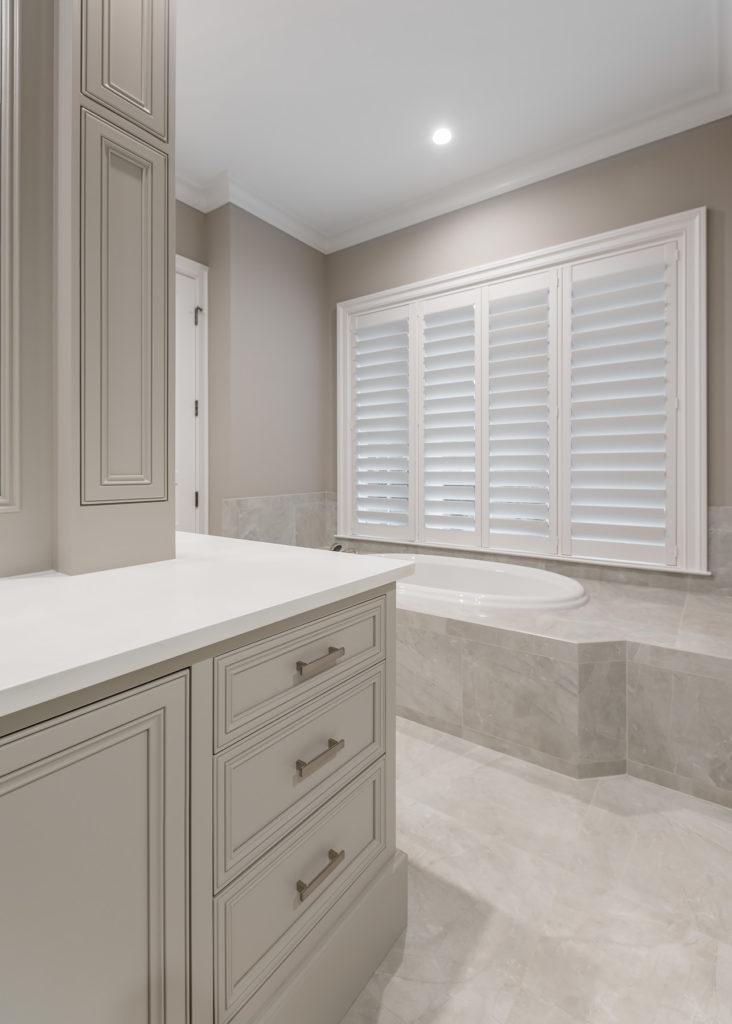 Master Bathroom Island Vanity Details