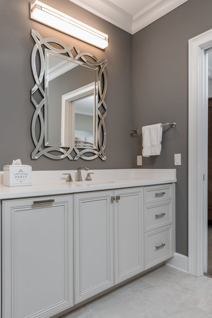 White Guest Bathroom