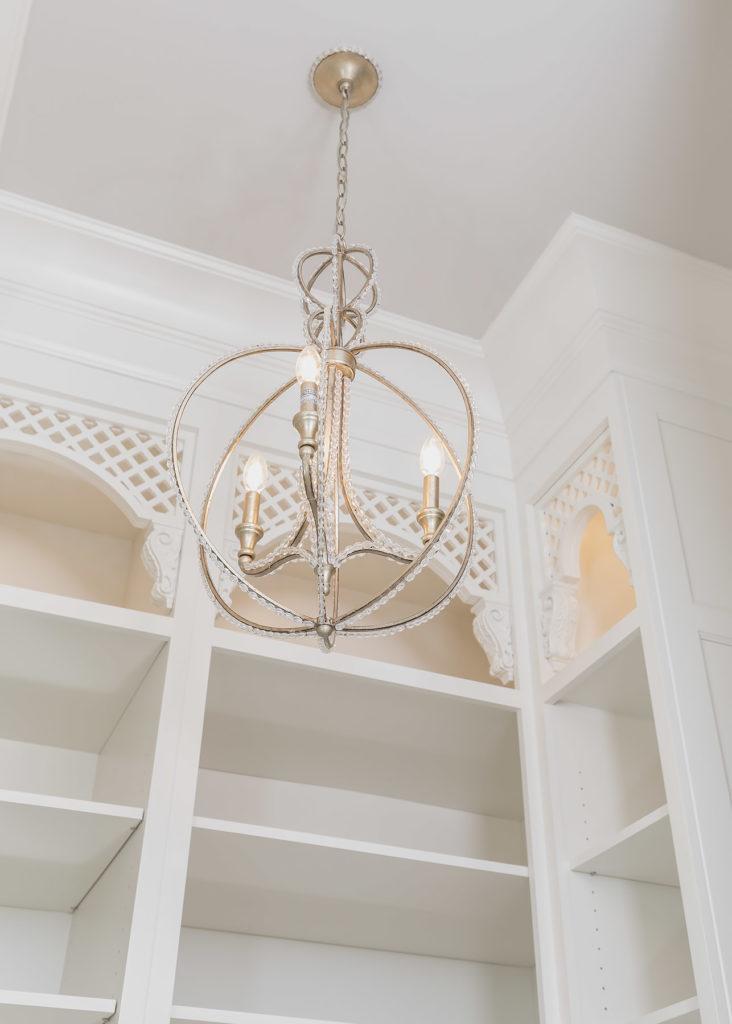 Elegant White Closet Details