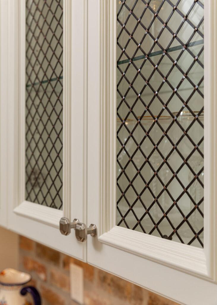 Wire & Glass Paneled Doors